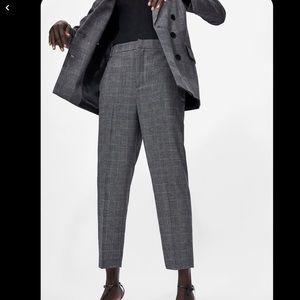 Zara Gray Formal Trousers